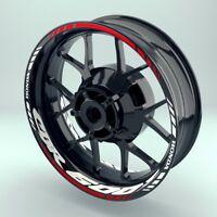 Felgenaufkleber Motorrad Felgenrandaufkleber  Wheelsticker  Honda CBR600F