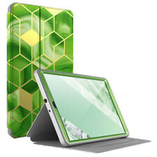 Galaxy Tab A 10.1 2019 Tablet Case Folio Cover w/Built-in Screen Protector Green