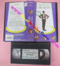 VHS film LE FELICI DISAVVENTURE DI MR.BEAN 1996 Rowan Atkinson (F50*) no dvd