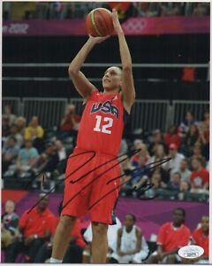 DIANA TAURASI signed WNBA 8x10 photo AUTOGRAPH auto JSA Phoenix Mercury Olympics