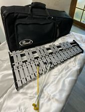 Pearl 32 Key Xylophone with Soft Case & 3 Mallets Clean Condition!