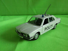GAMA  1:43  BMW 528i  1149  POLITI  -  RARE  SELTEN  GOOD CONDITION.