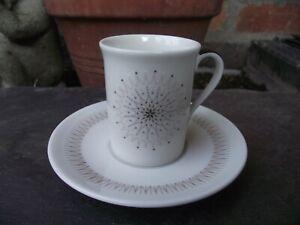 Royal Doulton Morning Star Demi Tasse Espresso Fine China Cup & Saucer T C 1026
