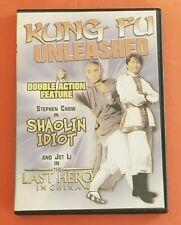 Kung Fu Unleashed - Dvd - Shaolan Idiot & Last Hero In China - Jet Li