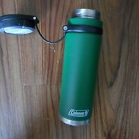 Coleman Fuse GREEN Insulated Stainless Steel Water Bottle 24 OZ.