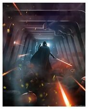 Andy Fairhurst – Star Wars Rogue One Power of the Dark Side Print Poster Set