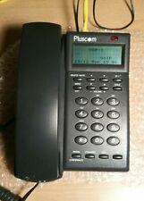 Teléfono IP SIP VOIP Pluscom soporta 3 líneas/Números