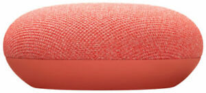 Google Nest Mini (2Nd Gen) - Coral (Uk) NEW