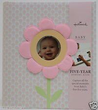 Hallmark Pink Garden Flower 3 Ring Five Year Memory Book NWT Girls Baby Books \u0026 Albums | eBay
