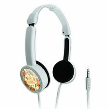 Give Thanks Thanksgiving Pumpkins Travel Portable On-Ear Foldable Headphones