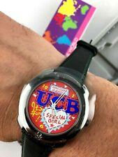 Watch BENETTON BULOVA Mod. Dep Watch NOS Vintage Quartz Watch