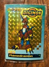Bandai Digimon Trading Card New ID# 238 Flamedramon Toy Exclusive Holo Sealed