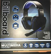 Billboard BB569 Performance Multimedia Headset NIB - Free Ship