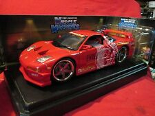 Muscle Machines 2003 Acura NSX Endless Street Racing Drift Car 1:18 Scale nice
