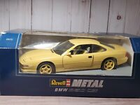 Revell 1990 BMW 850 CSi Coupe 1:18 Scale Diecast Dealer Model Car Yellow 8825