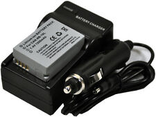 New Battery and Charger NB-10L for SX40 SX50 SX60 HS G1X G1 X G3X G15 G16 nb10l