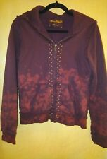 old Navy special edition wine studded hooded coat jacket w m