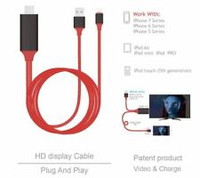 HDMI Cable for iPhone iPad - RED