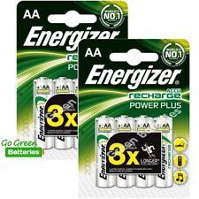 Piles rechargeables Energizer pour équipement audio et vidéo AA