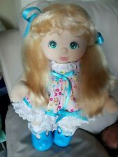 Mattel My Child Doll - 88 UL Blonde, Aqua Grape. COMES DRESSED!