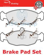 Apec Rear Brake Pads Set OE Quality Replacement PAD982