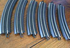 Bachmann Train Track 6 Curves HO Scale Bends Gauge Size 18 '' R 30° E Z Black pk