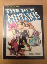 Marvel Graphic Novel 4, Nm (9.2 - 9.4), 3Rd Print, 1St App New Mutants