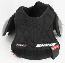 Brine Trident Youth Lacrosse Shoulder Pads Chest Protector Size Small S