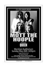 Mott The Hoople / Queen 1974 Columbus Concert Poster