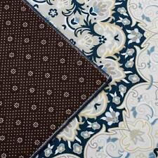Large Floor Rugs Teal Auqa Blue Super Soft Allover Persian Carpet Mat 3 Patterns