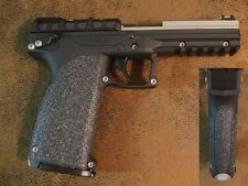 Black Textured Rubber Grip Enhancements for the Kel-Tec PMR 30 .22 Magnum