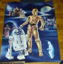 Lot of 3 Vintage Star Wars Dawn Cascade Give Away Wall Posters Ken Goldammer Art