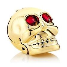 Brillo de Labios Belleza Maquillaje Up Color Bálsamo Estrella de Rock Oro Cráneo