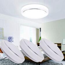 PIR LED 12W Flush Mounted Ceiling Light Automatic Infrared Motion Sensor Lamp US