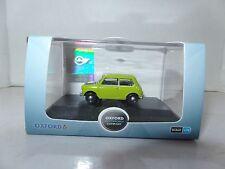 Oxford 76mn005 mn005 1/76 scala OO Classic BLMC Austin Mini Lime Verde Mr Bean