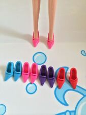 42  paris Four Color Sandals Doll Shoes For Barbie Dolls High Heels Sandals