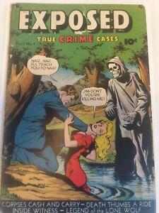 Exposed #1 Pre Code Horror Comic Book 1948 (Ultra Rare)
