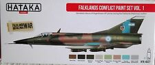 Hataka HTK-AS27 Falklands War Argentine Air Force 8 colour paint set