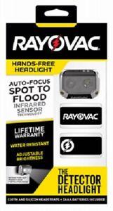 "Rayovac Workhorse Elite, 3 ""AA"" LED Automatic Spot To Flood Head Light"