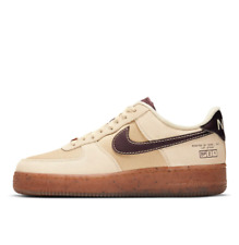 Nike Air Force 1 '07 LV8 Coffee Lifestyle Shoes Coffee DD5227-234 Size 5-12