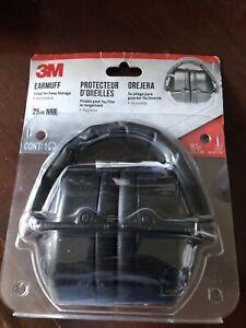 3M Folding Earmuff SLC80 NIP 25dB New
