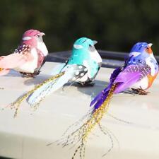1Pc Mini Decorative Toys Artificial Foam Feather Mini Birds Craft-Birds
