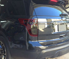 11-15 Ford Explorer Tail light tint kit rear markers cover vinyl overlays smoked