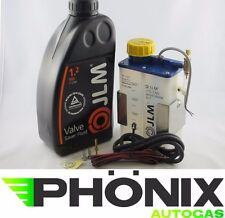 JLM Autogas Ventilschutz Set mit LED Anzeige TÜV Valve Saver Lube Fluid 1000ml