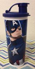 Tupperware Marvel Avengers Captain America Large Tumbler 16oz New