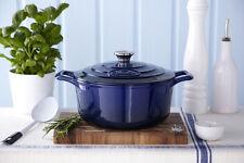 NEW La Cuisine Ultra Marine Blue Ovenproof 1.75 L Round Casserole