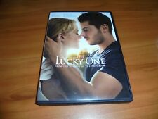 The Lucky One (DVD, Widescreen 2012) Zac Efron Used Nicholas Sparks