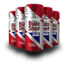 Buzz Shot (30 Bottles 60ml) - Energy Shot - Energy Drink with Guarana