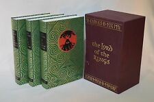 Lord of the Rings Trilogy - J R R Tolkien - Folio Society 1977 - 2001 Ptg (H)
