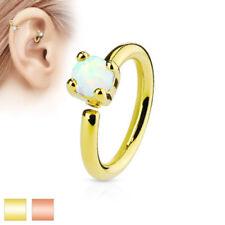 Joyas blancos de acero quirúrgico de oreja para el cuerpo
